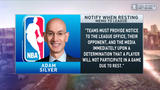 Boomer and Carton: Adam Silver sends memo to teams about resting players