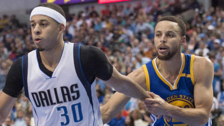 97d0b2593993 Seth Curry on starting against Steph   It was a lot of fun until the game  started  - CBSSports.com