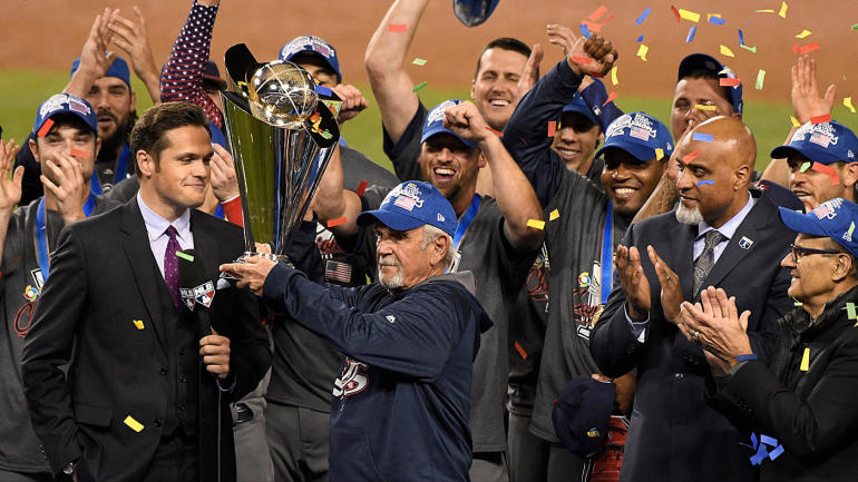 Emotional Jim Leyland dedicates USA win to troops after his final game as manager - CBSSports.com