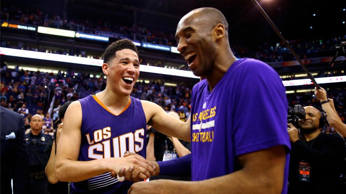 premium selection 77fd7 55ad4 Suns' Devin Booker credits Kobe Bryant for mindset that led ...