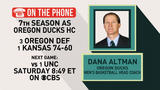 Gottlieb: Dana Altman on Final Four
