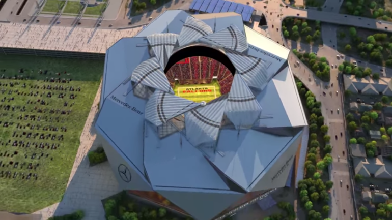 Look The Falcons Absurd Retractable Roof Might Delay