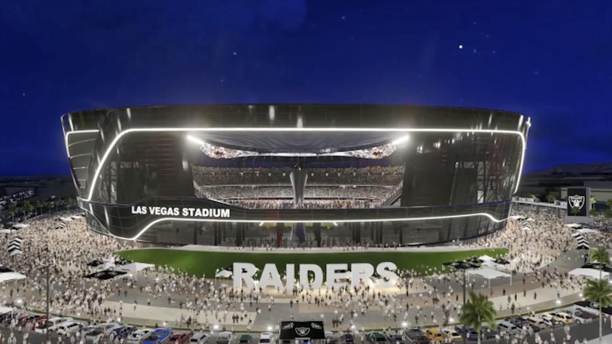 Raiders Las Vegas Stadium Construction Continues Despite Workers Getting Coronavirus Cbssports Com