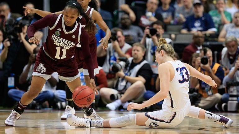 Women's 2017 Final Four: Mississippi State stuns UConn ...