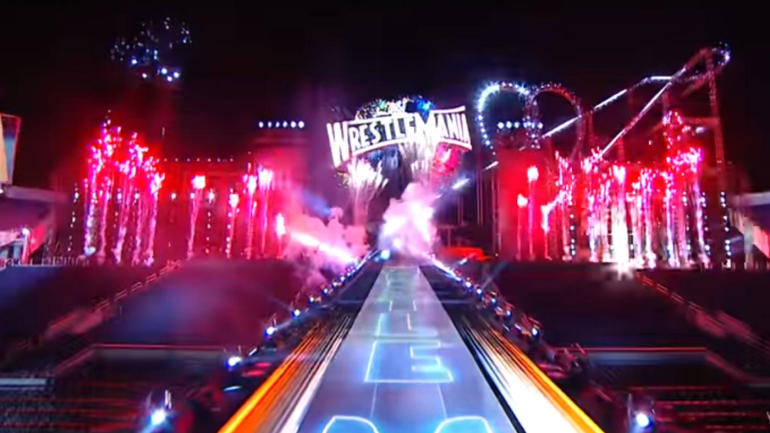 WATCH: WWE WrestleMania 33 set, stage revealed: Stacked ...