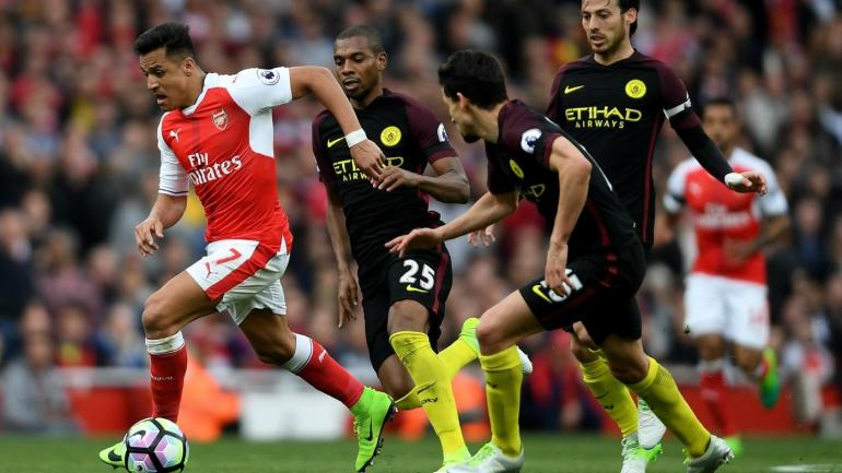Arsenal 0-2 Manchester City RESULT