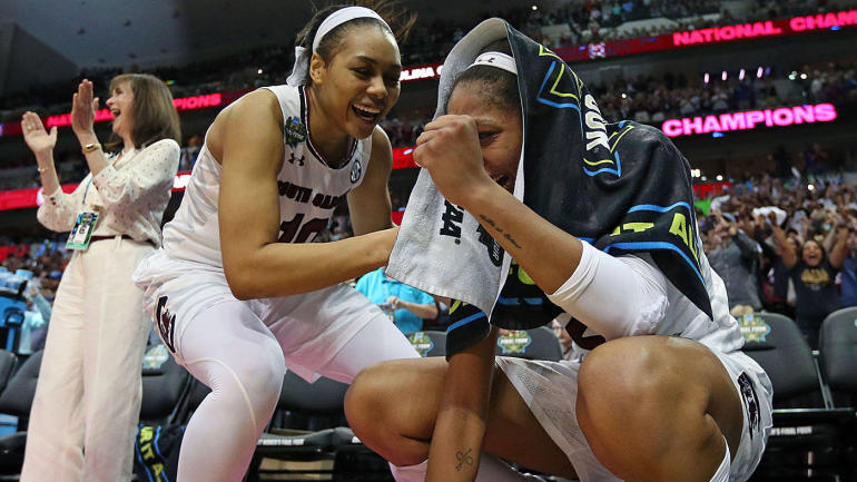 Women's Final Four: South Carolina beats Mississippi State ...