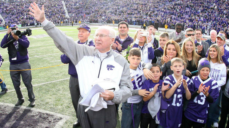 Bill Snyder after cancer battle