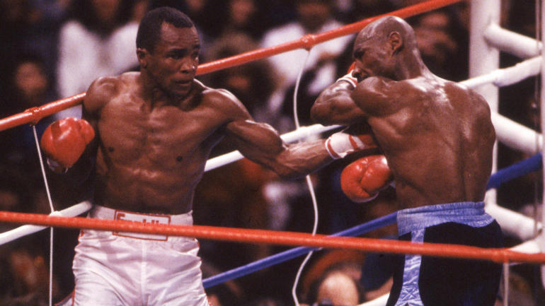 Sugar Ray Leonard S Upset Of Marvin Hagler Remains A