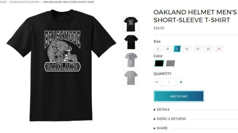 b55e7f21a LOOK  Does Marshawn Lynch s clothing line give us a clue to his Raiders  future  - CBSSports.com