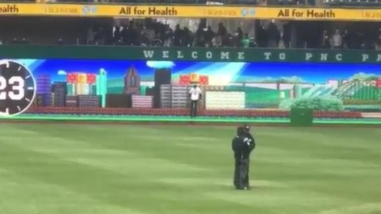 WATCH The Pirates Are Playing Real Life Video Games On New Right Field Scoreboard
