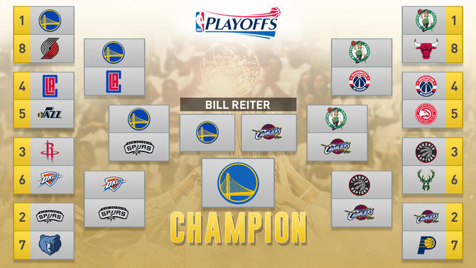 NBA playoff predictions 2017: First-round series picks ...