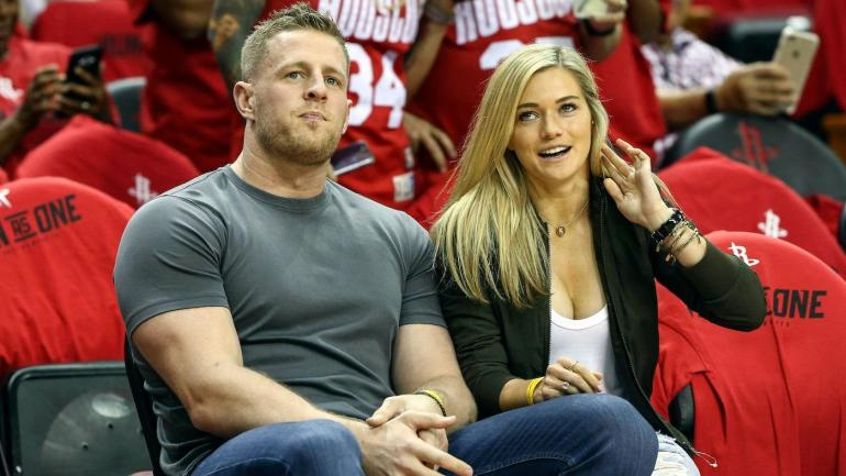 LOOK: J.J. Watt gets called out by Rockets for not wearing ...