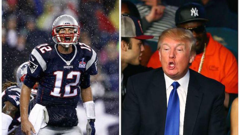 6dbc7b937b2 Donald Trump doesn t mention Tom Brady in speech during Patriots  White  House visit - CBSSports.com
