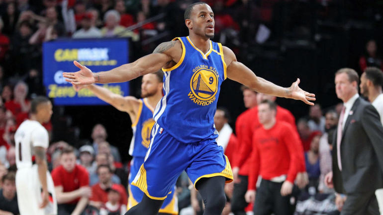 Warriors' Andre Iguodala probable and Zaza Pachulia out for Game 3 vs. Spurs