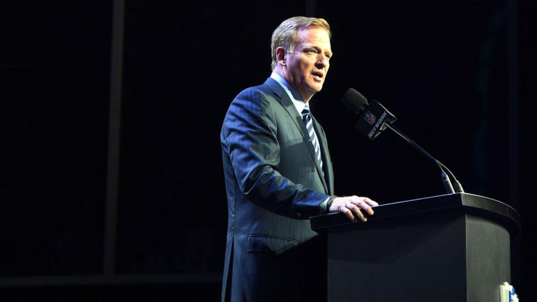 goodells singles ''the game has so many elements i think our country admires and respects,''  roger goodell, the nfl commissioner, told me on sunday, jan.