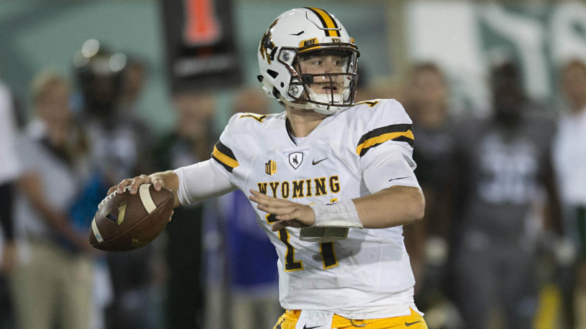 24a45725d29 NFL scouts are already salivating over the Wyoming QB who could go No. 1 in  2018 - CBSSports.com