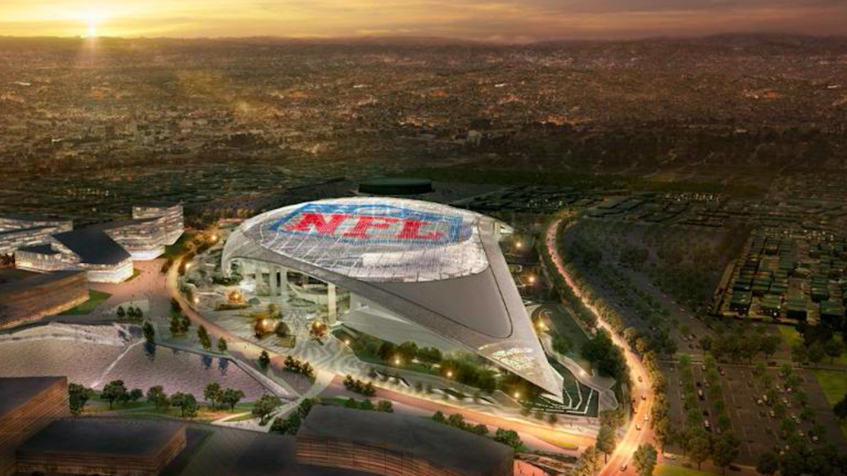 Nfl S New Los Angeles Stadium For Rams Chargers Delayed A
