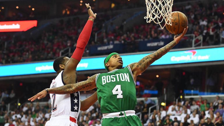 Celtics-Wizards: Isaiah Thomas says refs let Wizards 'hold ...
