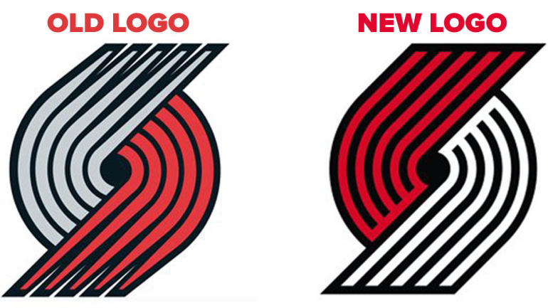 LOOK: Blazers unveil new logo, and you'll need to look ...