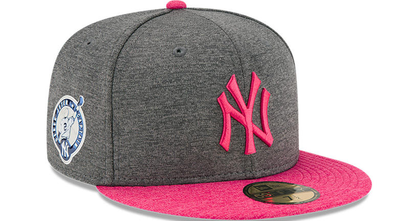 LOOK  Here are the hats the Yankees will wear for Derek Jeter s number  retirement a56de309224