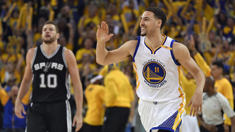2e811cd8edc Spurs-Warriors Takeaways  Golden State uses huge second-half rally to take Game  1 - CBSSports.com