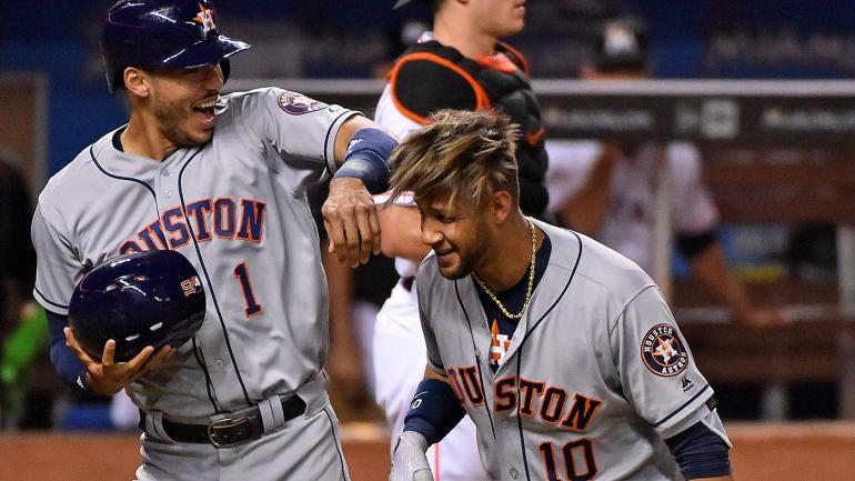 MLB Monday scores, highlights, updates, news: Slammin' Astros stay hot - CBSSports.com