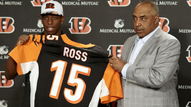 Andy Dalton says new Bengals receiver John Ross is 'the fastest guy in the NFL' - CBSSports.com