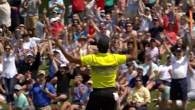 WATCH: Jason Day drains 60-foot birdie putt at AT&T Byron Nelson