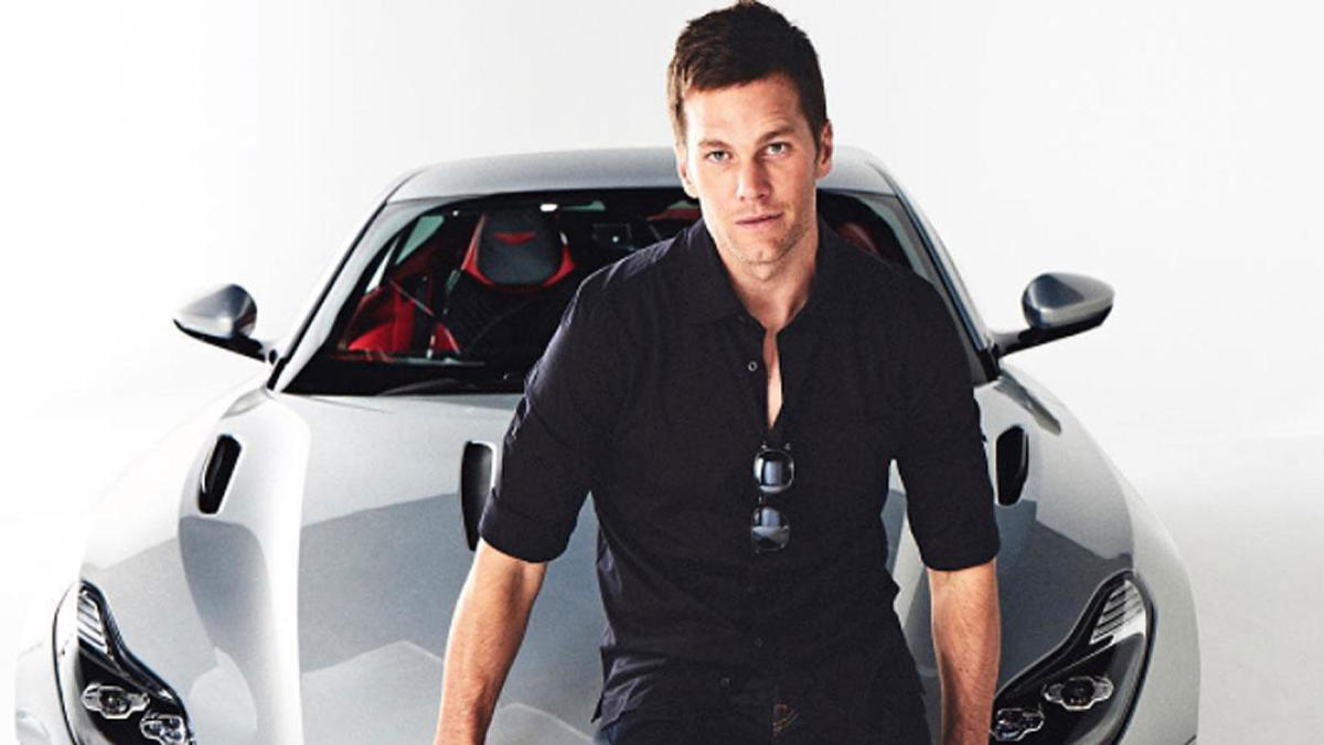 Look Tom Brady Helped Design This Ridiculously Expensive Car For Aston Martin Cbssports Com