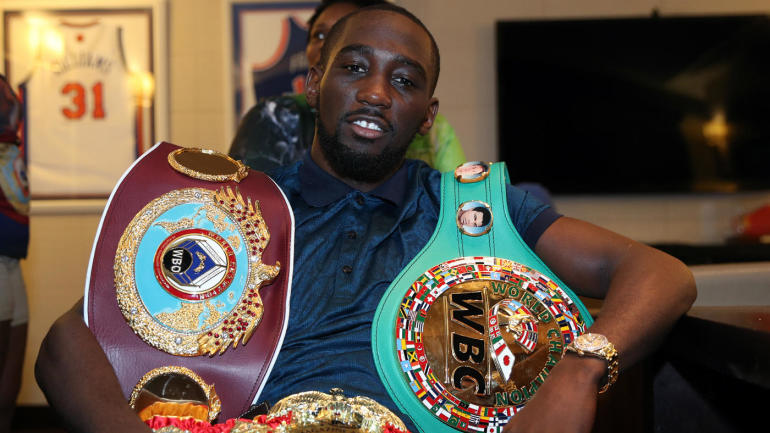 Terence Crawford scores TKO over Felix Diaz, calls for fight with Manny Pacquiao - CBSSports.com