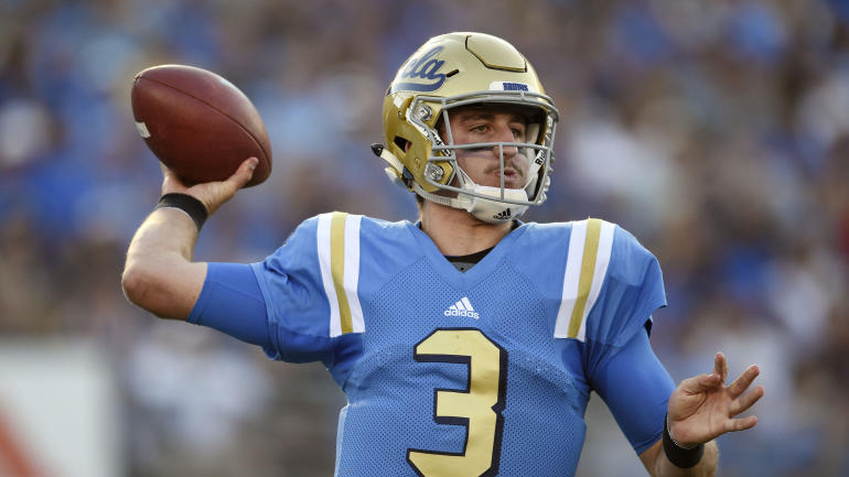 Eli Manning 2017 Stats >> 2018 NFL Mock Draft: Giants draft UCLA's Josh Rosen as Eli Manning's replacement - CBSSports.com