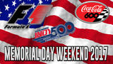 Memorial Day weekend to feature Indy 500, Formula One & NASCAR