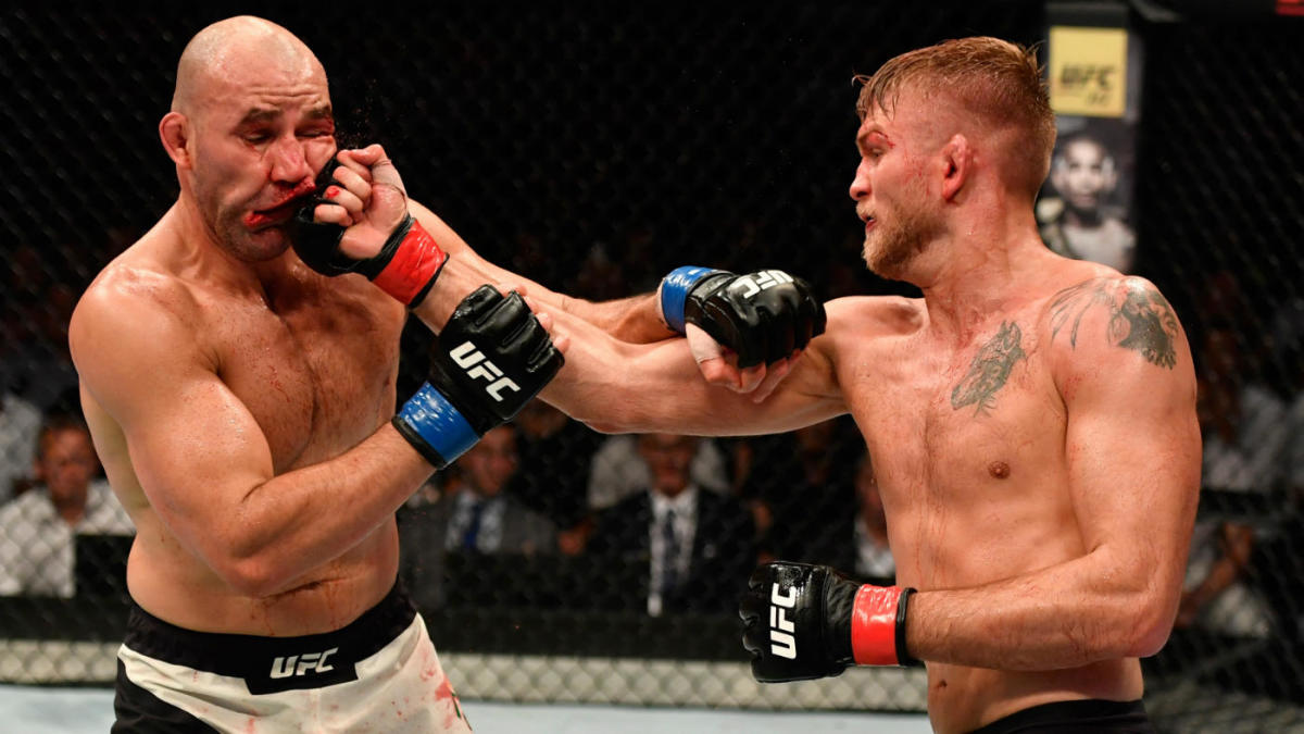 UFC Fight Night results: Alexander Gustafsson mauls Glover ...