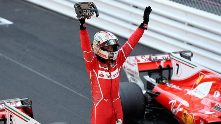 F1 Monaco Grand Prix 2017 race results: Vettel ends Ferrari drought at Monte Carlo - CBSSports.com