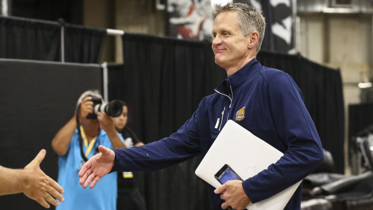 Color Warriors coach Steve Kerr confused by NBA Finals underdog pick