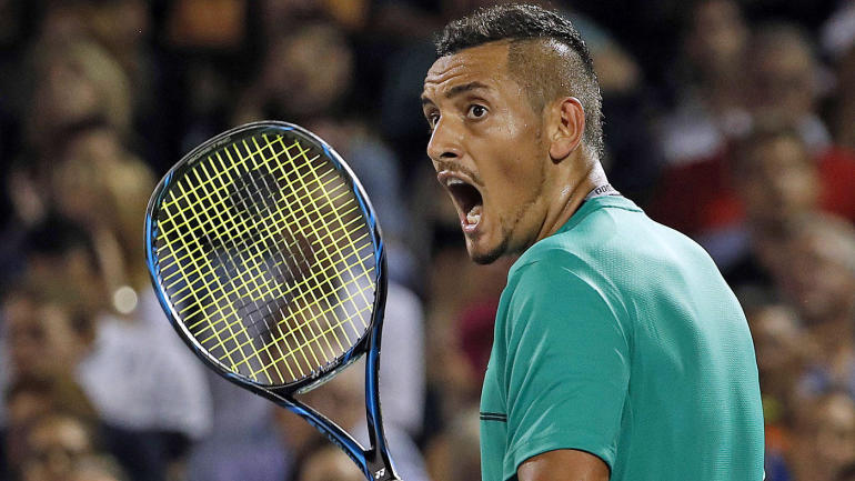 Nick Kyrgios is latest sore loser to go ham on his racket ...