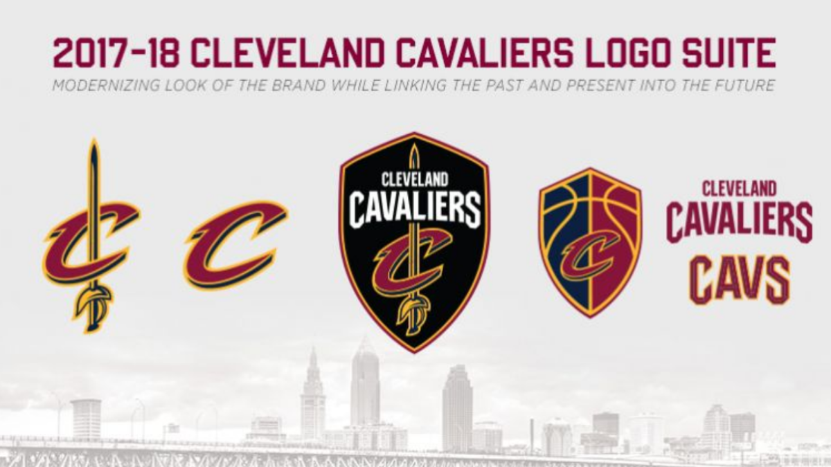 ad9a73e2 LOOK: Cavs unveil new logos, add black to color scheme before start of NBA  Finals