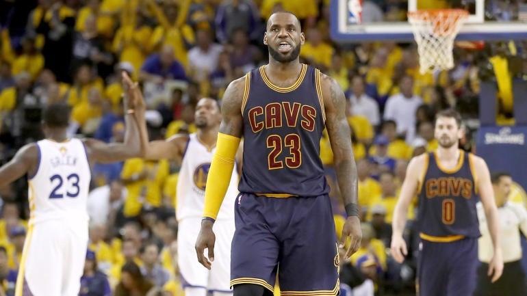 NBA Finals 2017: How LeBron James' Cavs must adjust approach against Warriors - CBSSports.com