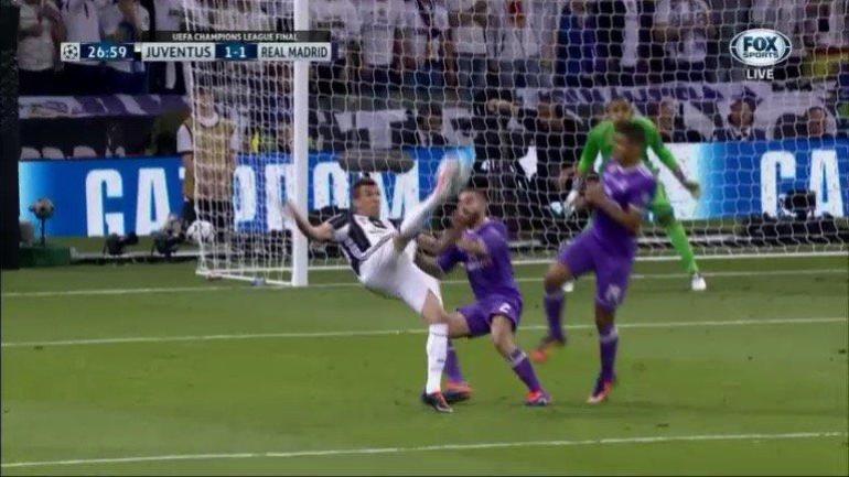 Juventus vs. Real Madrid: Mandzukic scores one of the best ...