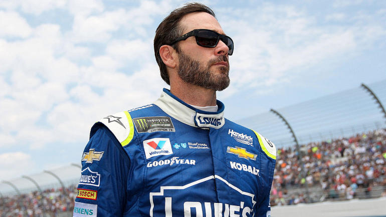 Jimmie Johnson shares simple message about gender-neutral ...