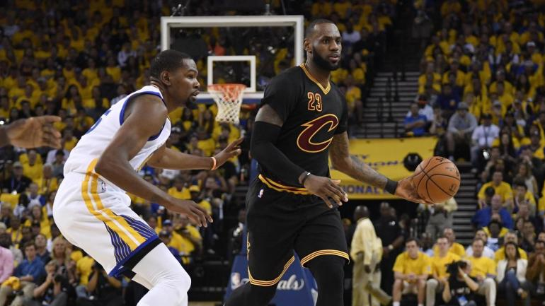 Cavs-Warriors: LeBron ties Magic Johnson for most triple ...