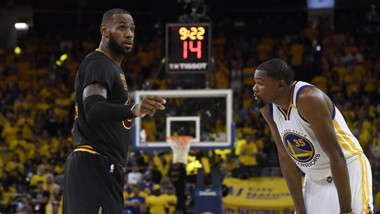 47a45d033b9 Kevin Durant says LeBron  paved the way  for his decision to sign with  Warriors - CBSSports.com
