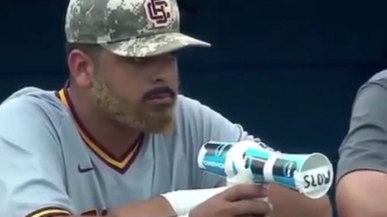 WATCH: College baseball player trolls opposing pitcher ...