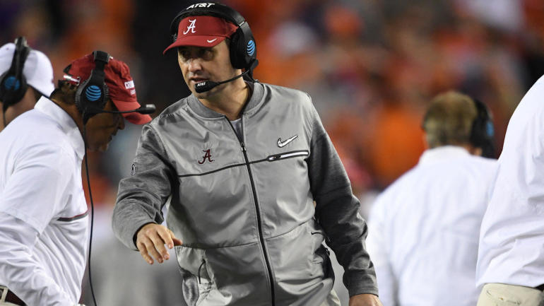 Alabama coach Nick Saban announces seven new additions to Crimson Tide coaching staff