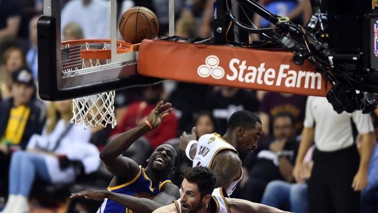 NBA Finals: Draymond Green receives