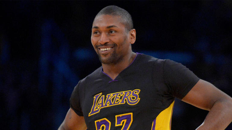 One Of The Tracks On Metta World Peaces New Album Is Called Hennessy At Halftime Cbssports Com
