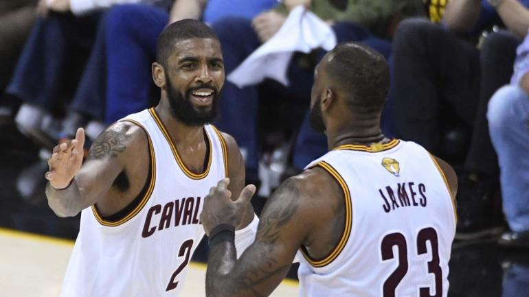 6b096b59233b Report  Kyrie Irving might force a trade out of Cleveland if LeBron leaves  Cavs in 2018 - CBSSports.com