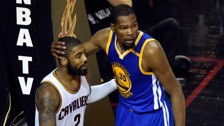 Warriors Kevin Durant Says Skill For Skill Kyrie