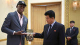 Dennis Rodman gives Trump's 'The Art of the Deal' to official in North Korea